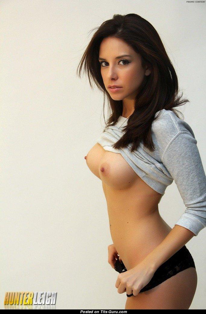 Amateur mature big tits hairy pussy masturbating