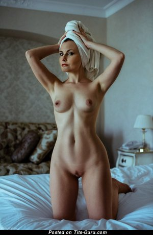 Image. Nude amazing girl with medium natural boobs picture