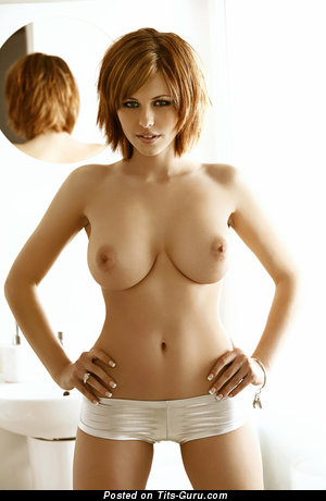 Image. Naked amazing lady with natural breast picture