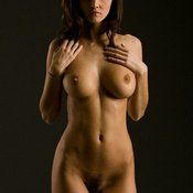 Hot lady with big natural tittys image