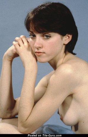Image. Madonna - nude wonderful girl with medium natural boobies picture