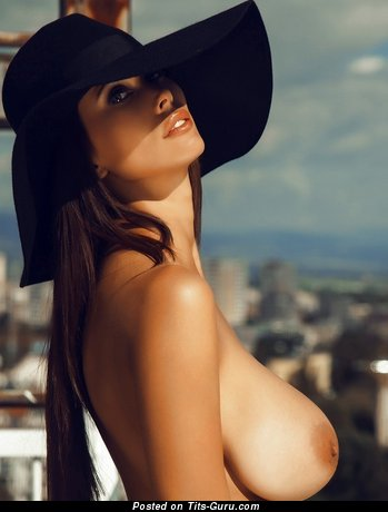 Bilyana Evgenieva - sexy topless amazing lady with big tittys photo