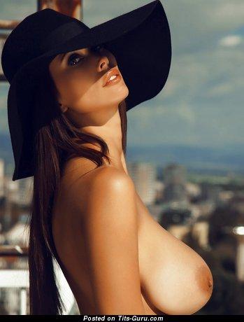 Bilyana Evgenieva - Hot Topless Bulgarian Babe with Hot Bald Sizable Melons (Sex Pic)