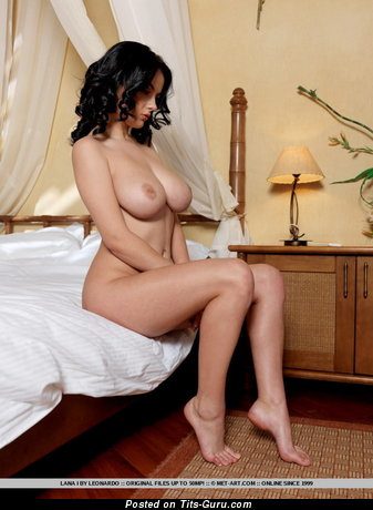 Image. Lana - naked amazing lady with big natural boobs pic