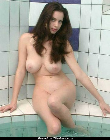 Image. Nude wonderful girl with big natural tittes photo