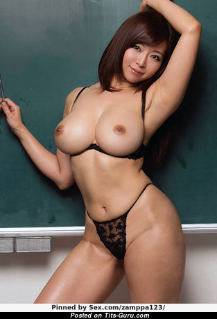Delightful Topless Asian Babe with Delightful Exposed Real Boobys & Erect Nipples (Xxx Picture)