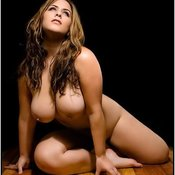 Hot woman with huge natural breast pic