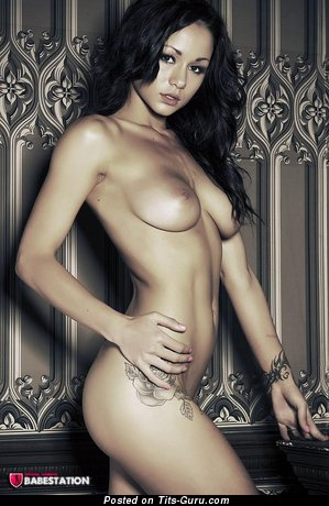 Image. Mica Martinez - naked amazing female with medium natural boobs picture