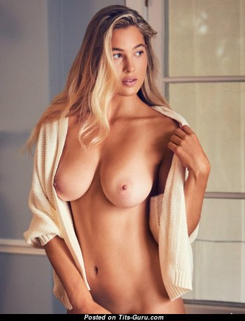 Fine Babe with Fine Naked Real Firm Breasts (Hd 18+ Image)