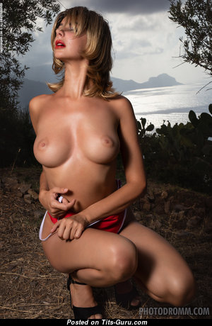 Adorable Undressed Blonde with Big Nipples (Hd 18+ Pix)