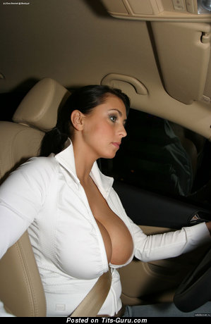 Image. Naked hot female with huge boob pic