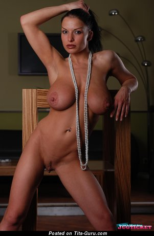 Aksana Shyker - Magnificent Russian Doxy with Magnificent Nude Substantial Chest & Giant Nipples (Hd Xxx Picture)
