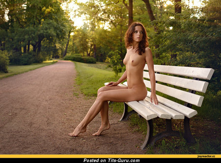 Image. Naked hot girl with medium natural tits image