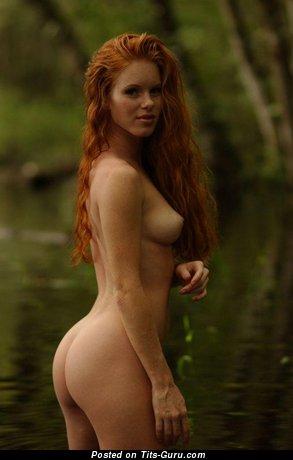 Изображение. Фото горячей голой рыжей