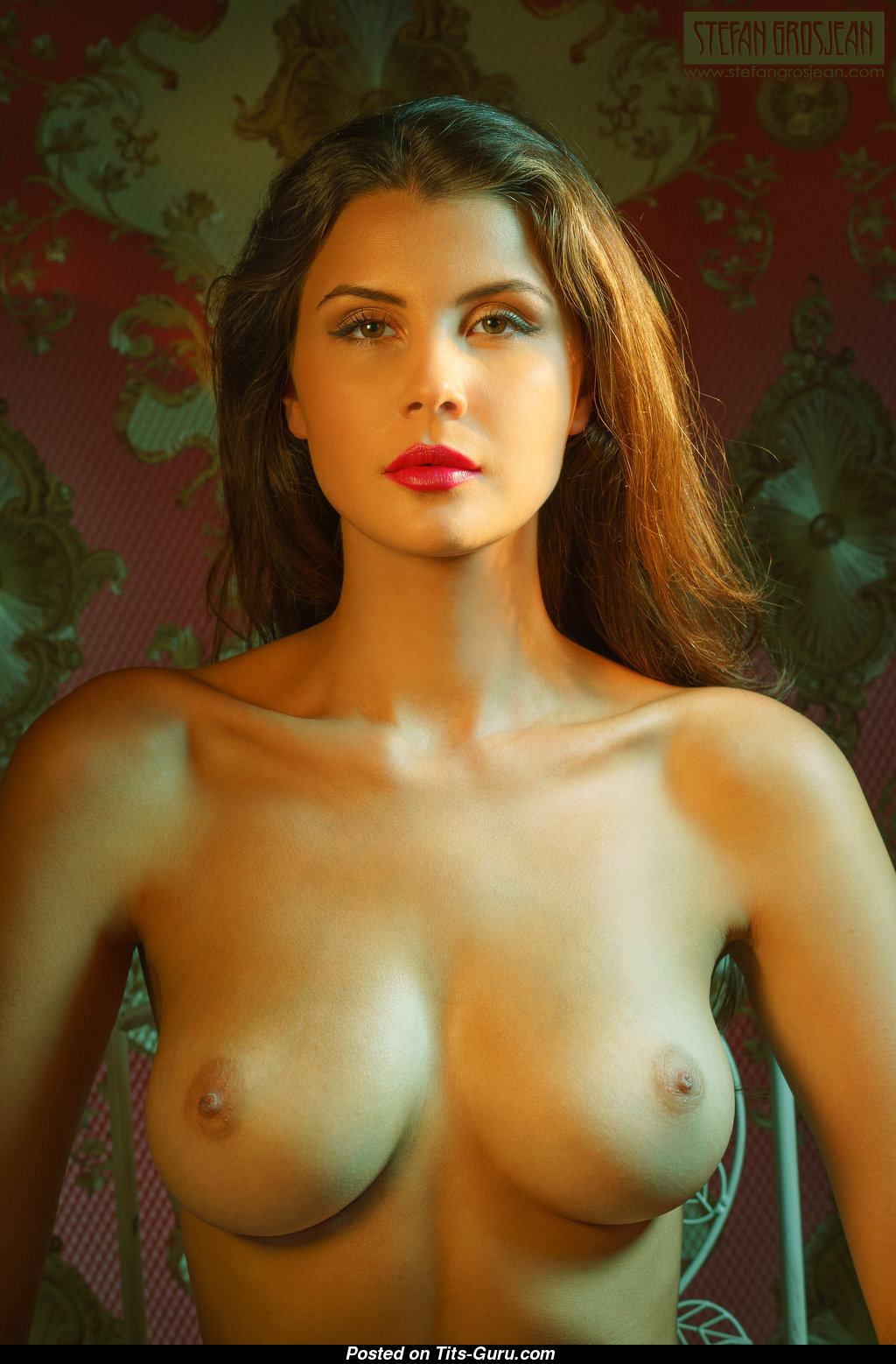 Olga Kamińska - Brunette with Bare Mid Size Melons Sexual ...