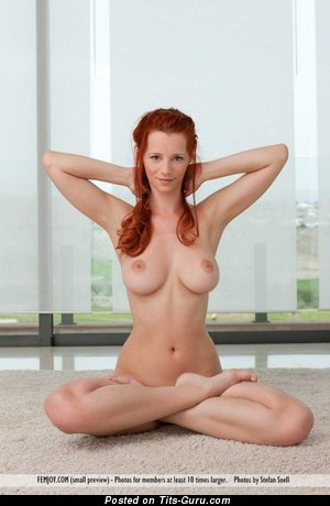 Ariel Piper Fawn - nude red hair with medium natural tittys image
