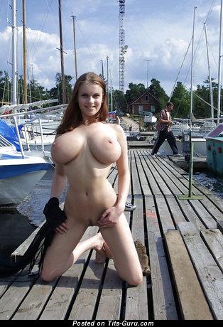 Image. Naked awesome lady with big boobies image