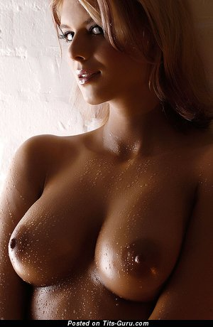 Image. Nude beautiful female with big natural boob image