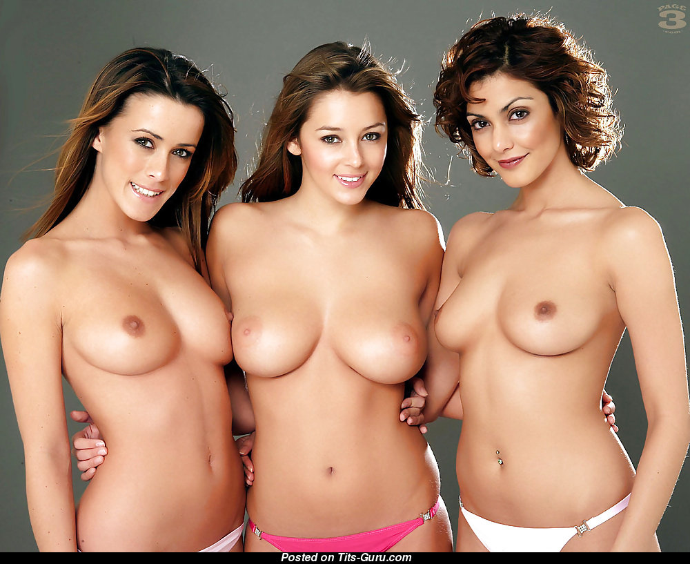 Keeley Hazell - Babe With Naked Real Med Boobies 18 -5034