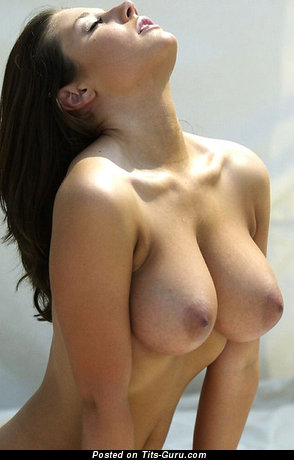 Image. Naked amazing lady with big natural breast picture