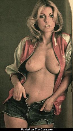Image. Gillian Duxbury - naked blonde with medium natural boob vintage