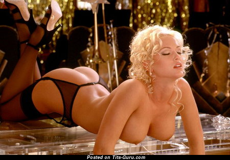 Image. Heather Kozar - sexy topless blonde with big boobies and big nipples image