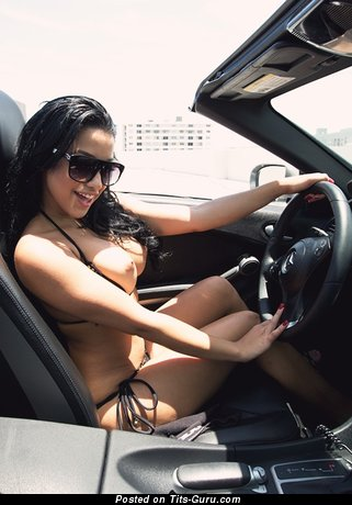 Abella Anderson - Hot Cuban, American Brunette with Hot Open Substantial Breasts (Xxx Wallpaper)