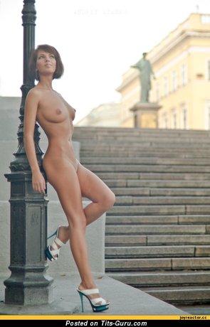 Image. Nice girl with medium boobs photo