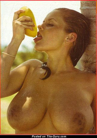 Joanne Latham - naked awesome woman with medium natural tits vintage