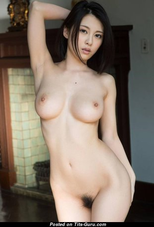 Adorable Asian Babe with Adorable Nude Real Breasts (Hd Sexual Wallpaper)