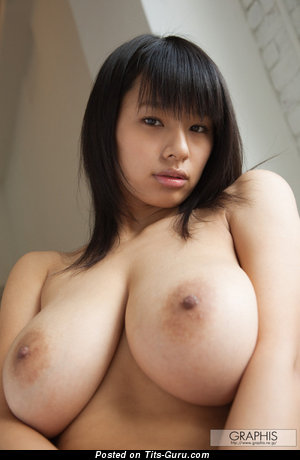 Image. Hana Haruna - sexy topless asian with natural tittys pic