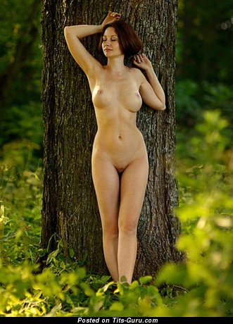 Image. Naked amazing girl with natural tittes picture