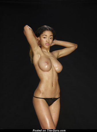 Image. Tyra - nude amazing female with big boobies image