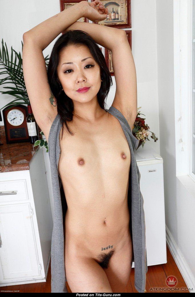 Saya Song - Sexy Nude Asian Brunette With Small Natural -3983
