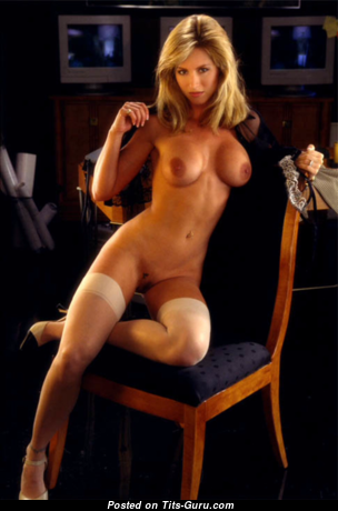 Gillian Bonner - Yummy Topless American Playboy Blonde with Yummy Nude Natural Tits (Hd Xxx Photo)