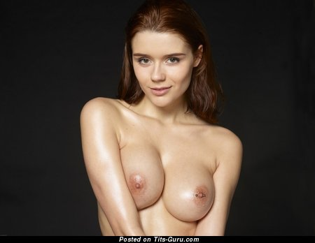 Image. Nude hot female with natural boobs photo