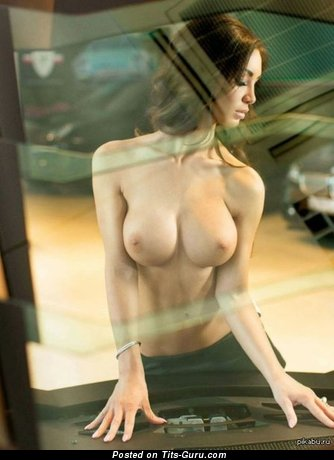 Image. Naked beautiful girl with big tittys photo