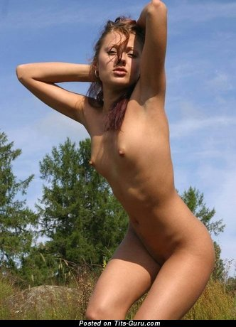 Image. Topless amateur beautiful woman image