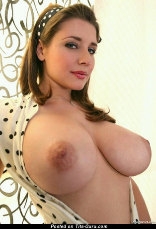 Image. Nice lady with big natural boob pic