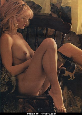 Nina Carter - Perfect Topless British Blonde with Perfect Nude Natural Titties, Pointy Nipples, Sexy Legs (Vintage Hd Sexual Pic)