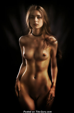 Image. Sexy naked awesome girl with small natural boobs photo