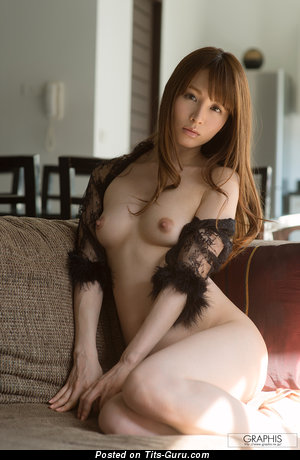 Image. Miku Ohashi - sexy naked asian brunette with small natural tits image
