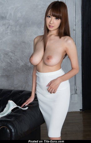 Image. Nude asian with big natural boob image