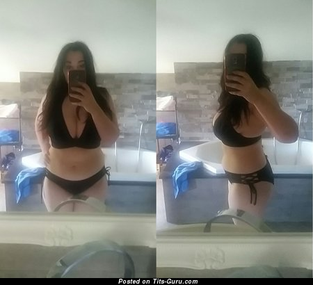 Babi Lombardo - Fine Non-Nude Brunette Babe with Fine Real Average Breasts in Bikini & Lingerie is Undressing in the Shower (Private Selfie Hd Sex Pix)