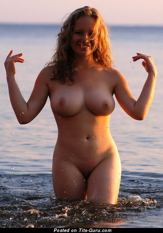 Nude nice girl with big natural tots image