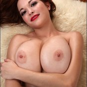 Wonderful lady with natural breast pic