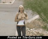 Image. Alison Angel - nude blonde with big natural tittes gif