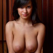 Alona - beautiful female with medium natural breast image