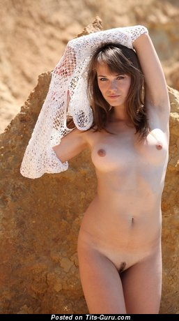 Image. Naked hot girl with medium natural boobs picture