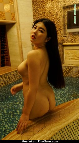 Delightful Asian Girl with Delightful Naked Natural Average Jugs (Hd Sex Image)